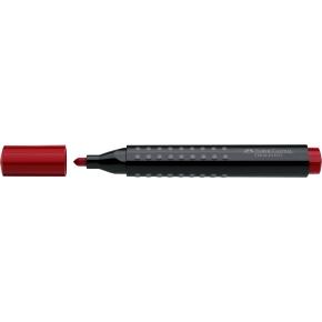 Faber-Castell Grip Marker, rund spids, 4 stk.