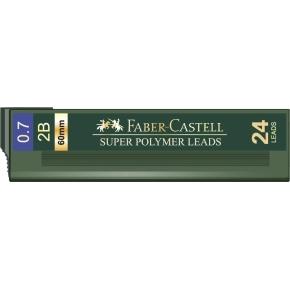 Faber-Castell Super Polymer Stifter 0,7 mm 2B