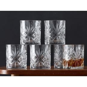 Lyngby Glas Krystal Melodia Whiskyglas, 6 stk.