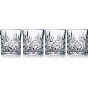 Lyngby Glas Melodia Shotglas, 4 stk., 5 cl