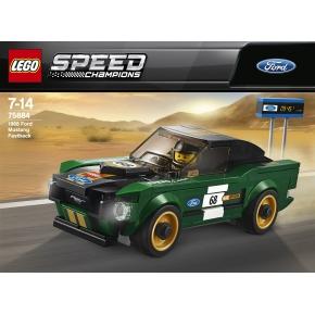 LEGO Speed C. 75884 Ford Mustang Fastback, 7-14 år