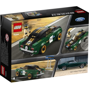 LEGO Speed C. 75884 Ford Mustang Fastback, 7-14 år