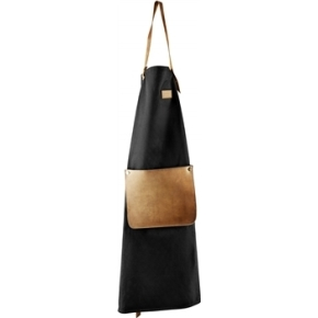 Forklæde i kanvas og læder design Eva Solo