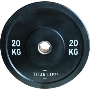 Titan Life Rubber Bumper Plate 20 kg