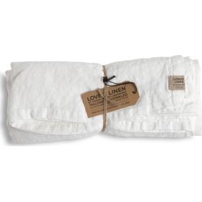Lovely Linen dug - hvid