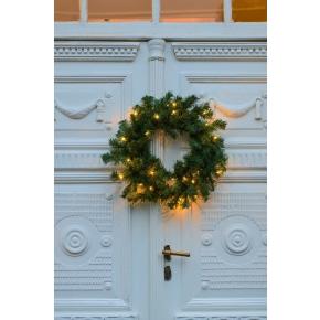 Julekrans, Ø 45 cm, 40 LED