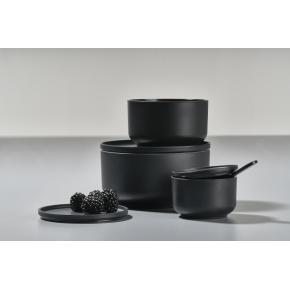 Zone Peili skålesæt, 3 stk, black