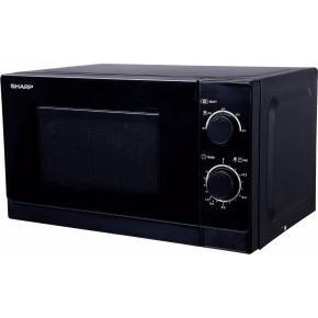 Sharp R200 Mikrobølgeovn, 800W, sort