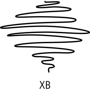Staedtler Triplus Ball Kuglepen XB, blå