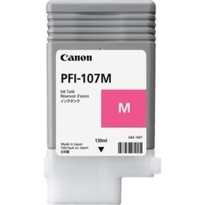 Canon PFI-107 blækpatron, rød, 130 ml.