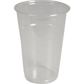 Komposterbart drikkeglas, klar, 20 cl