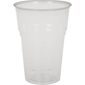 Komposterbart drikkeglas, klar, 30 cl