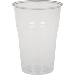 Komposterbart drikkeglas, klar, 40 cl