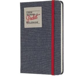 Moleskine Ugekalender 2019 Hard Pocket, denim sort