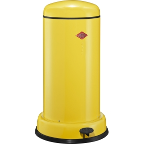 Wesco Baseboy Pedalspand, 20 L, gul