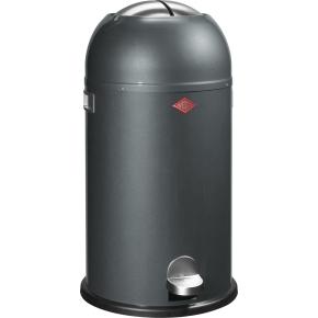 Wesco Kickmaster Pedalspand, 33 L, grafit