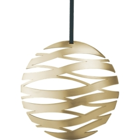 Stelton Tangle Ornament Messing, Stor