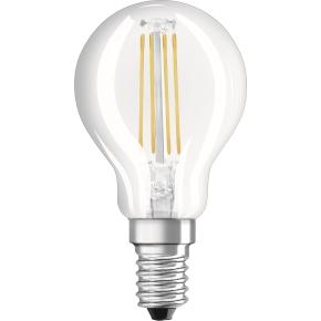 Osram Retro LED Kronepære klar E14, 4W=40W 5-pak