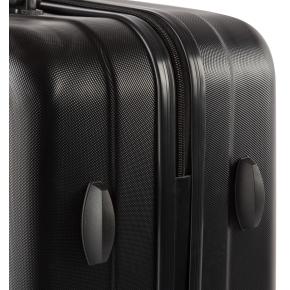 Kuffertsæt, 3 stk, Sort
