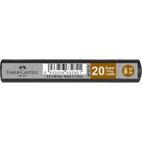 Faber-Castell Grip Stifter 0,5 mm HB, 20 stk.