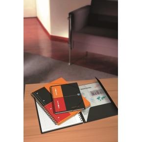 Oxford Int. Meetingbook Spiralbog A5+, linjeret