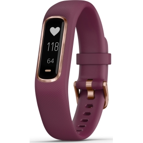 Garmin vívosmart® 4 aktivitetstracker i rose-gold