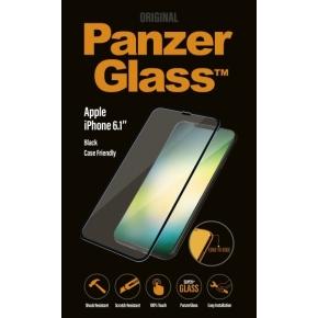 PanzerGlass til iPhone XR, Sort (CaseFriendly)