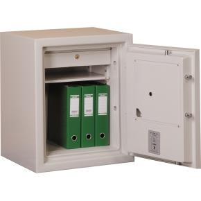 Brandsikkert dokumentskab ES-065, 71 l, El-kodelås