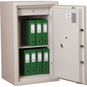 Brandsikkert dokumentskab ES-100, 133 l, El-kode