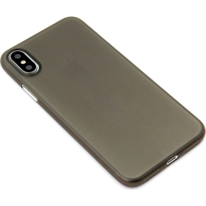 Twincase iPhone Xs Max case, transparent sort