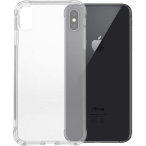 Twincase iPhone Xs Max case, transparent