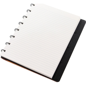 Filofax Notesbog Byg-Selv A5, guld