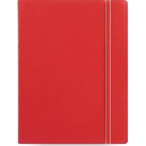 Filofax Notesbog Byg-Selv A5, rød