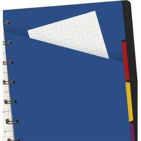 Filofax Notesbog Byg-Selv A5, sort