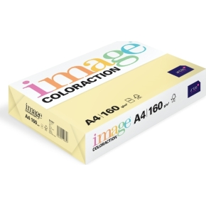 Image Coloraction A4, 160g, 250ark, majsgul