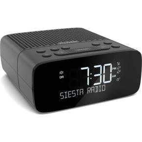 Pure Radio Siesta S2 Grafit med FM/DAB/DAB+, sort
