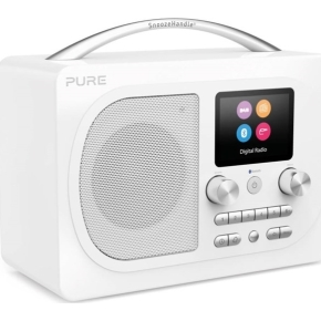 Pure Radio Evoke H4 Bluetooth m. FM/DAB/DAB+, hvid