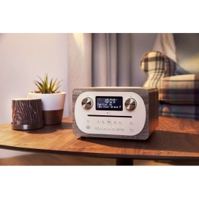 Pure Radio Evoke C-D4 Bluetooth, FM/DAB/DAB+, grå