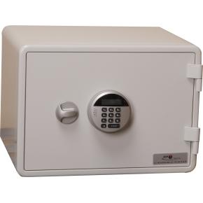 Brandsikkert dataskab EDS-020, 6 l, El-kodelås