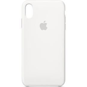 Apple cover til iPhone Xs Max i silikone, hvid