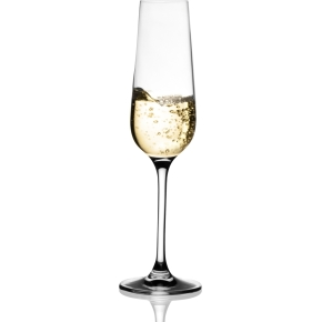 Invitation Champagne Glas