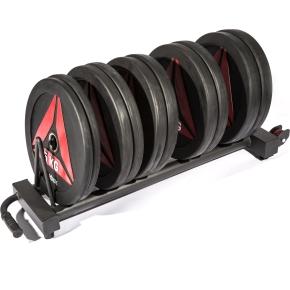 Reebok horizontal plate rack