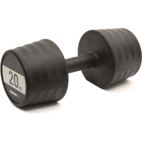 Reebok Gummi Håndvægt, 20 kg DELTA