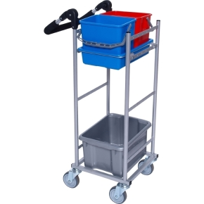 Tina Trolleys Rengøringsvogn ERGO Kompakt, model 1