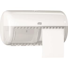 Tork T4 Twin Dispenser toiletpapir, hvid