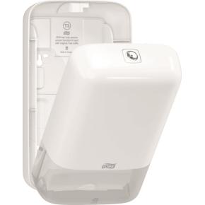 Tork T3 Dispenser Toiletpapir i ark, hvid