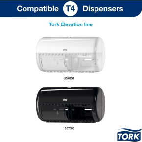 Tork Advanced T4 toiletpapir 2-lags, 24 ruller