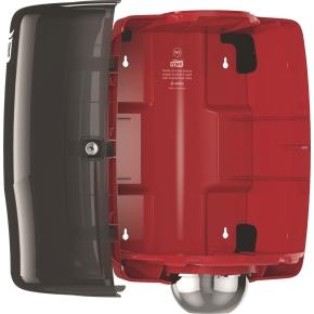 Tork W2 Dispenser Aftørringspapir, sort/rød