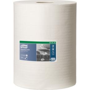 Tork Aftørringsklud, W1/W2/W3, 1 rulle, hvid