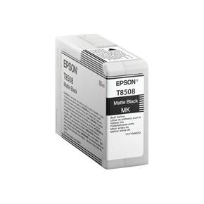Epson T8508 original blækpatron, mat sort